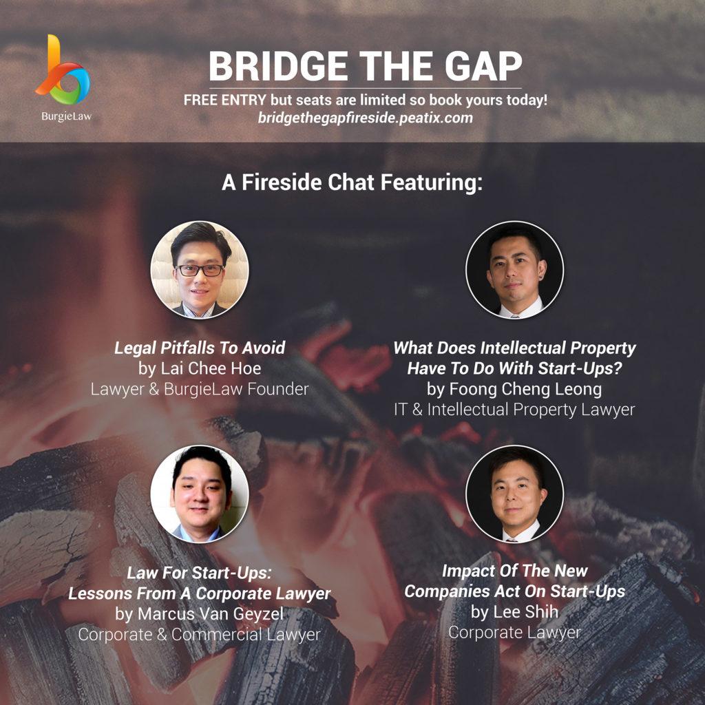 FIreside Chat: Bridge The Gap (Start-Ups & Law)