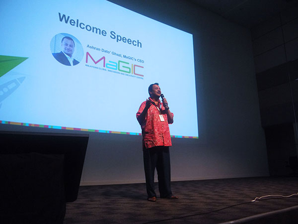 Welcome speech by Ashran Dato' Ghazi, MaGIC's CEO | | BurgieLaw Startup-Legal Conference 2016