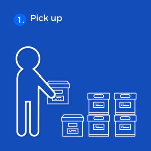 Digital Bundle (Archiving) Services: Step 1 Pick up