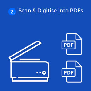 Digital Bundle (Archiving) Services: Step 2 Scan and digitise into PDFs