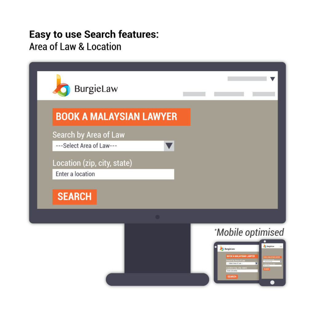 BurgieLaw's Legal Marketplace: 6 Features That Help You Find A Lawyer | SEARCH