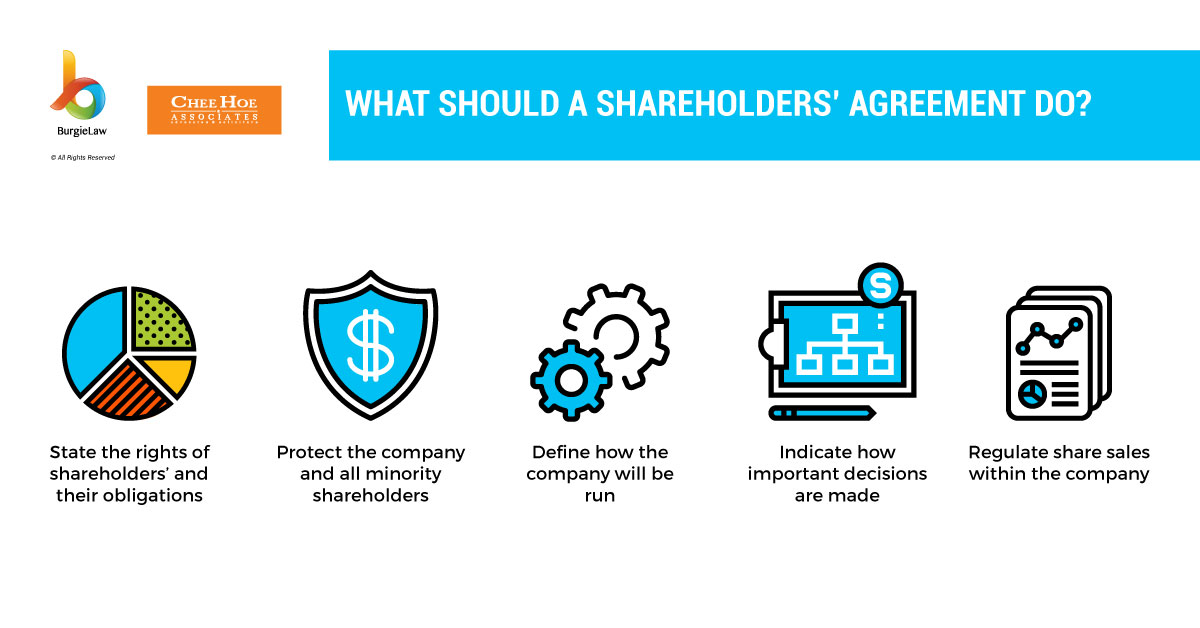 what does a shareholders agreement do