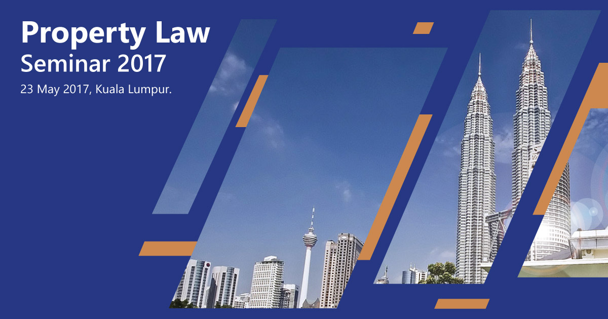Property Law Seminar 2017