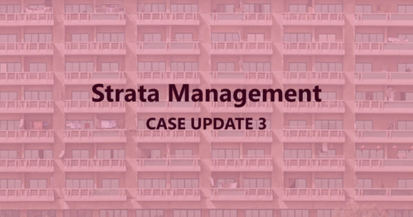 Strata Management Case Update 3: Can we Pre-determined Service Charges and Sinking Fund