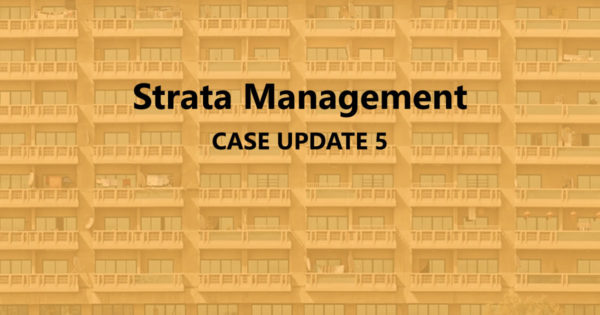 Strata Management Case Update 5 – Can a JMB/ MC deactivate access cards?