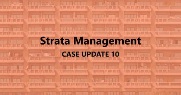 Strata Management Case Updates 10 – Can a JMB apply different rates of charges?
