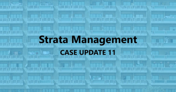 Strata Management Case Updates 11 – How can one stop AirbnB or short term rentals?