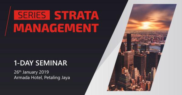 Strata Management Seminar Series 2019
