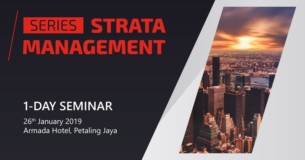 Strata Management Seminar Series 2019