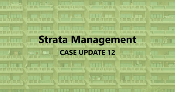 Strata Management Case Updates 12 – Can MC prohibits foreigners from renting?