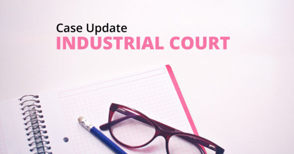 Industrial Court Case Update 1 – Is a verbal offer of job position binding?