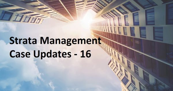 Strata Management Updates 16 – Parcel Rent will take into effect in KL and Perak from 1.1.2020