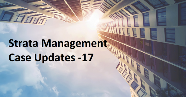 Strata Management Case Updates – 17  Whether accessory parcels must be used in conjunction with the main parcel?