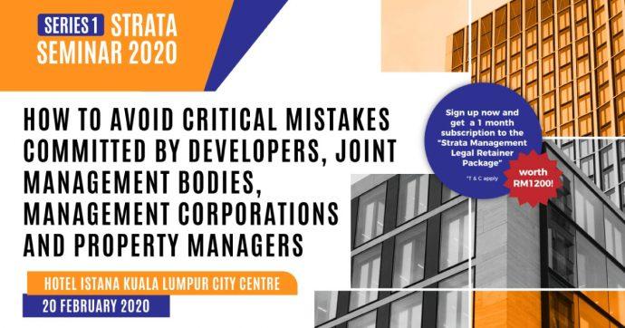 Strata Management Seminar 2020