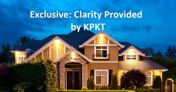 MCO SERIES: Clarity provided by KPKT as to the operations within a Strata Scheme Development Area