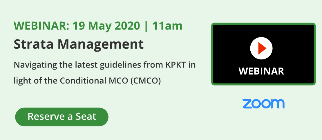 Join our Webinar: Strata Management - Navigating the latest Guidelines from KPKT in light of the Conditional MCO