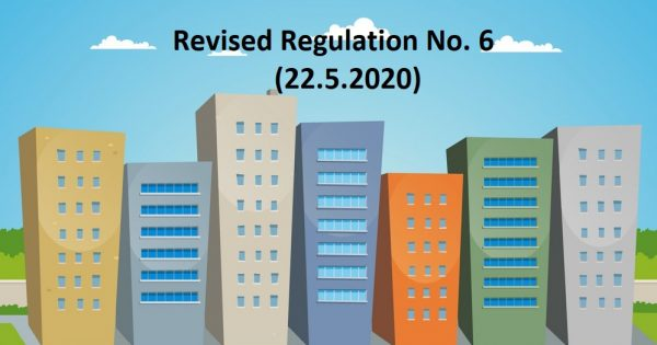 CMCO SERIES: Updates (22.5.2020) of the Prevention and Control of Infectious Diseases (Measures within Infected Local Areas) (No. 6) (Amendment) Regulations 2020
