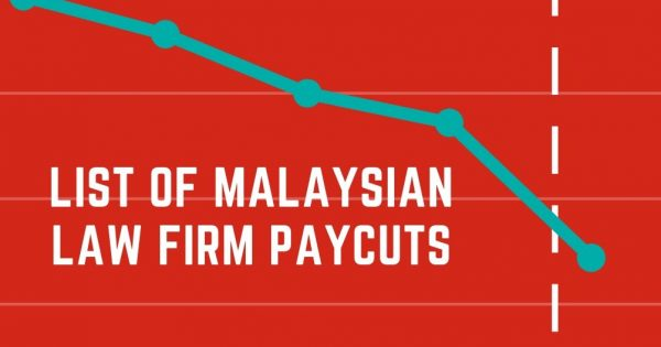 List of Malaysian Law Firm Pay Cuts (updated: 9.6.2020 @ 11:00am)