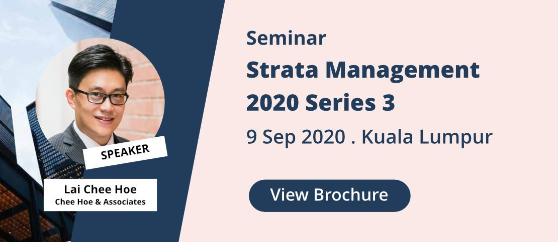 View Brochure for Strata Management Seminar 2020 Series 3.