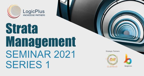 Strata Management Seminar 2021 – Series 1