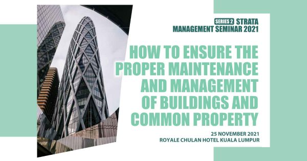Strata Management Seminar 2021 Series 2