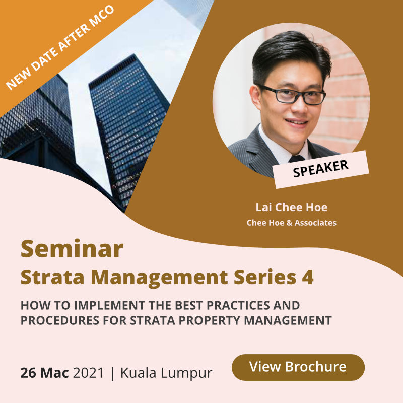 Strata Management Seminar Series 4. View Brochure.